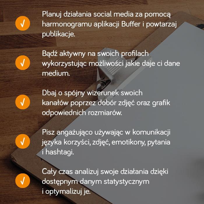 5 wskazówek skutecznego marketingu wsocial media